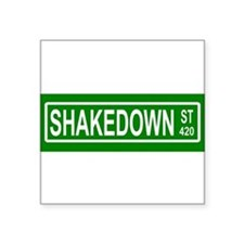 Shakedown Street Sign Sticker