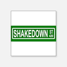 Shakedown Street Sign Sticker