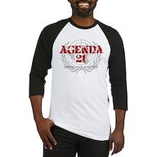 Agenda 21 color Baseball Jersey