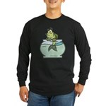 Fish Bowl Long Sleeve Dark T-Shirt