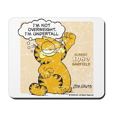 "Garfield ""I'm Undertall"" Mousepad"