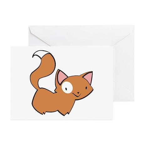 Kitten Design 1 Greeting Cards (Pk of 10)