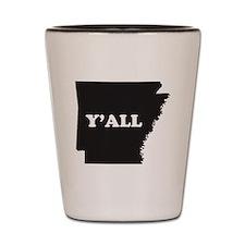 Unique Arkansas Shot Glass