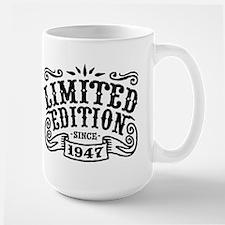 Limited Edition Since 1947 Large Mug