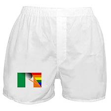Ireland Gay Pride Rainbow Flag Boxer Shorts