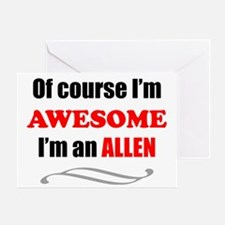 Allen Awesome Family Greeting Card