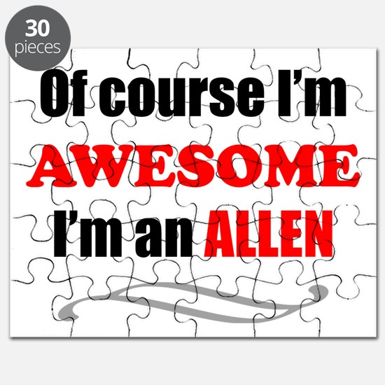 Allen Awesome Family Puzzle