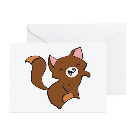 Kitten Design 2 Greeting Cards (Pk of 10)