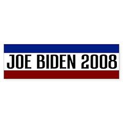 Joe Biden 2008 Bumper Bumper Sticker