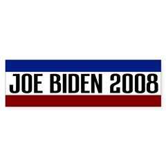 Joe Biden 2008 Bumper Bumper Sticker
