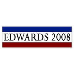 Edwards 2008 Bumper Bumper Sticker