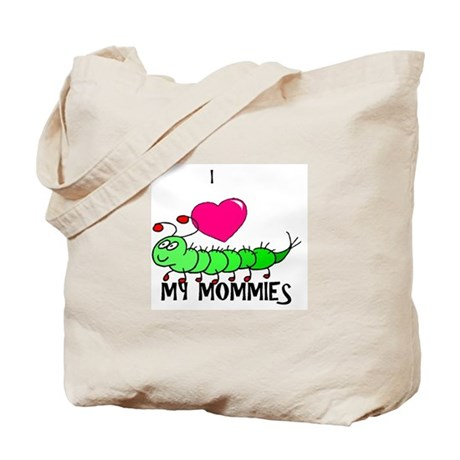 I love my mommies caterpillar Tote Bag