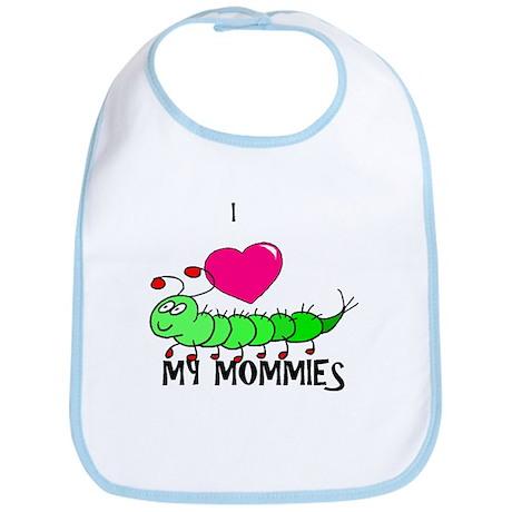 I love my mommies caterpillar Bib