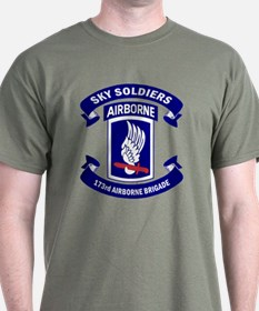 Offical 173rd Brigade Logo T-Shirt
