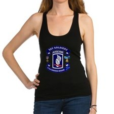 173rd Infantry Logo Racerback Tank Top