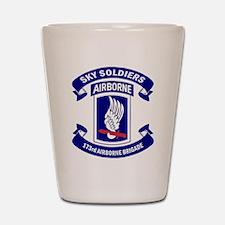 Offical 173rd Brigade Logo Shot Glass
