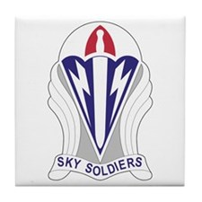 Unit Insignia: 173rd Airborne Tile Coaster