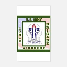 Airborne! 173rd Brigade Sticker (Rectangle)