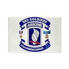 173rd Infantry Logo Rectangle Magnet