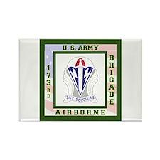 Airborne! 173rd Brigade Rectangle Magnet