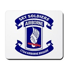 Offical 173rd Brigade Logo Mousepad