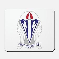 Unit Insignia: 173rd Airborne Mousepad