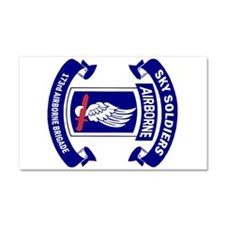 Offical 173rd Brigade Logo Car Magnet 20 X 12
