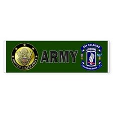 173rd Infantry Logo Bumper Sticker