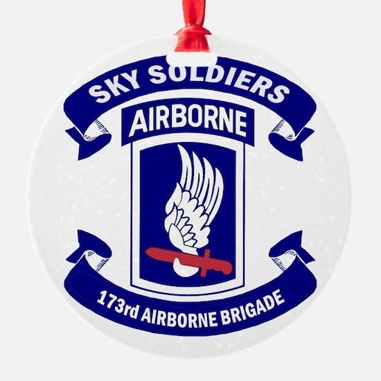 Offical 173rd Brigade Logo Ornament