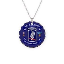 173rd Infantry Logo Necklace