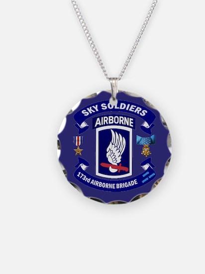 173rd Infantry Logo Necklace