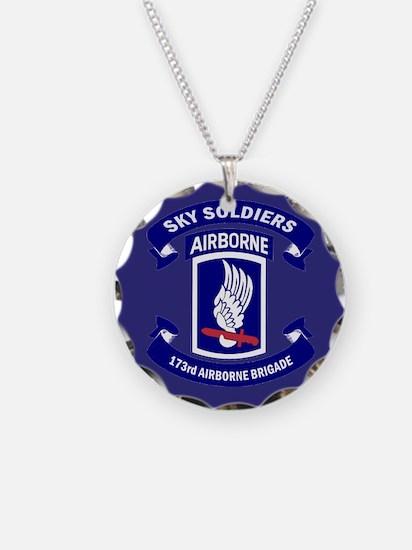 Offical 173rd Brigade Logo Necklace