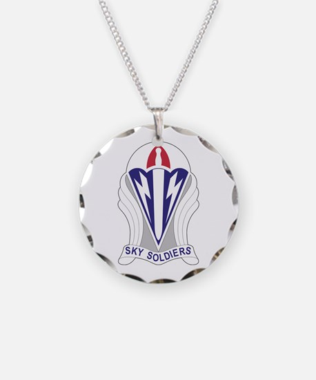 Unit Insignia: 173rd Airborn Necklace