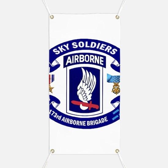 173rd Infantry Logo Banner