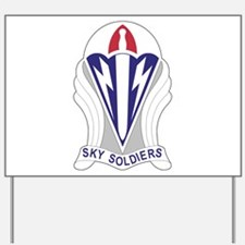 Unit Insignia: 173rd Airborne Yard Sign