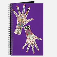 mehndi hand Journal