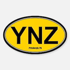 YNZ Sticker - Gold