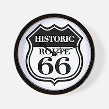 Historic Rte. 66 Wall Clock
