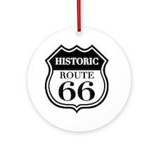 Historic Rte. 66 Ornament (Round)