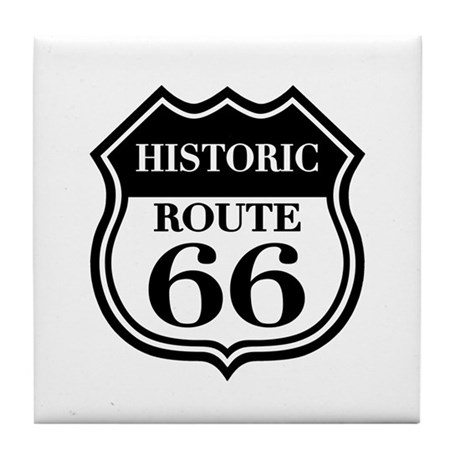 Historic Rte. 66 Tile Coaster