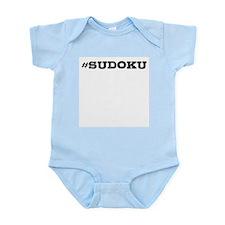 Sudoku Hashtag Body Suit