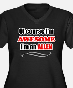 Allen Awesome Family Plus Size T-Shirt