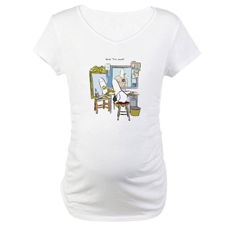 What the Duck: Self Portrait Maternity T-Shirt
