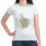 Retro Style Beer Jr. Ringer T-Shirt