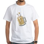 Retro Style Beer White T-Shirt