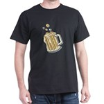 Retro Style Beer Dark T-Shirt