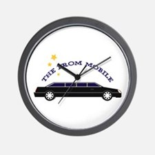 The Prom Mobile Wall Clock