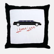 Limo Love Throw Pillow