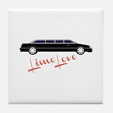 Limo Love Tile Coaster
