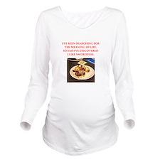 swordfish Long Sleeve Maternity T-Shirt